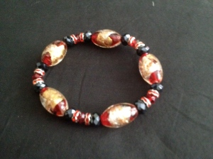 Athena Red Bead