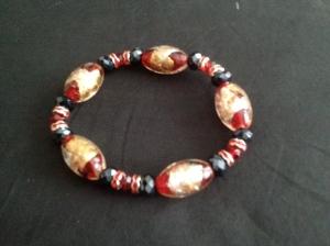 Athena Red Bead