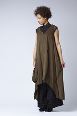 Habibe Brown Tunic