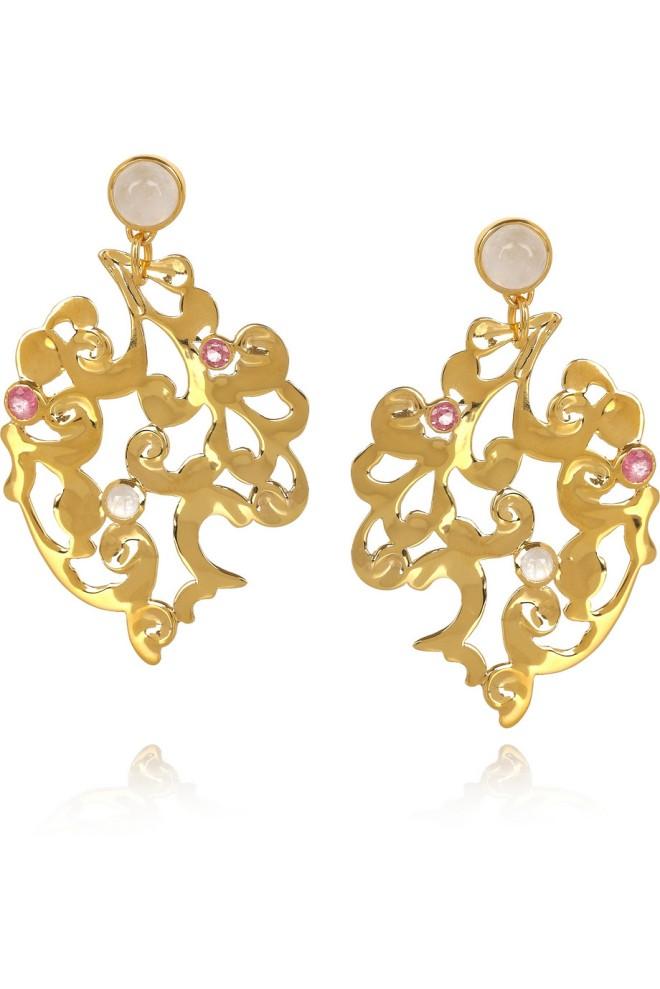 Monica Vinader Lace Earrings