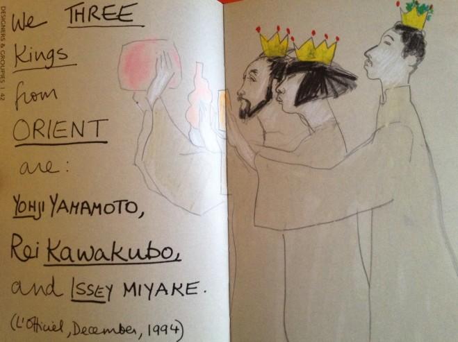 We Three Kings ... by Gladys Perint Palmer
