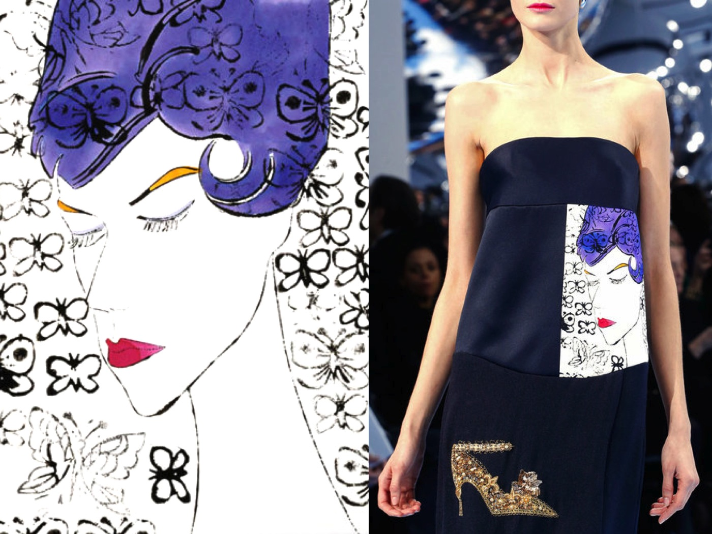 Dior F/W 2013/14, Inspired by Warhol