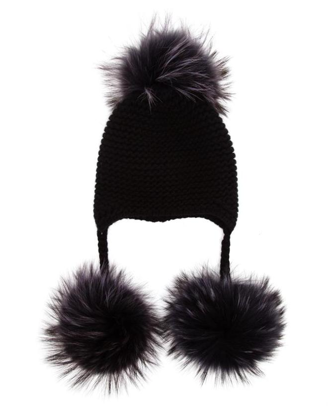 Pom Pom Beanie on Plus Black Blog