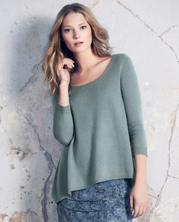 Poetry Scoop Neck Cashmere Jumper