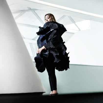 Zaha Hadid in Elke Walter on Plus Black Blog