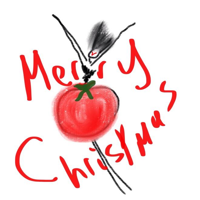 Christmas Bauble Plus Black Blog