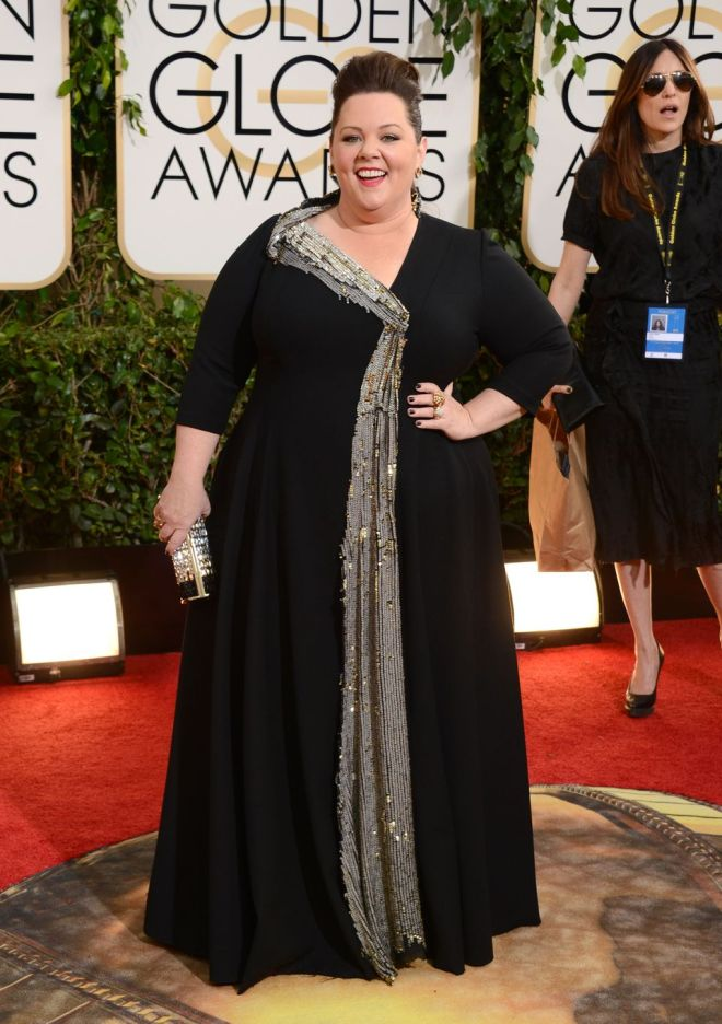Melissa McCarthy At The Golden Globes 2014