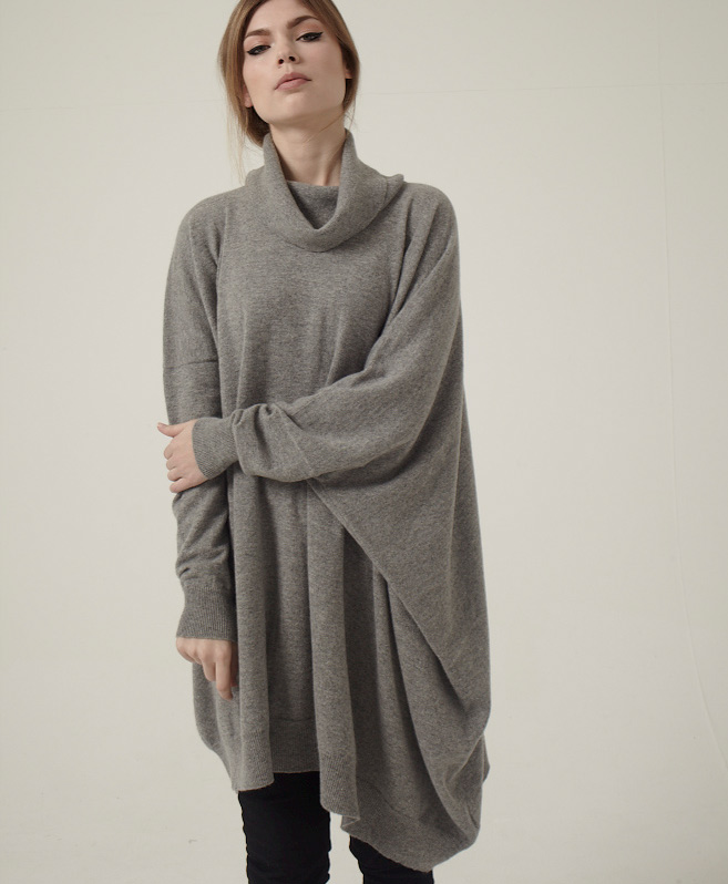 Isla Cowl Neck by Esk Cashmere