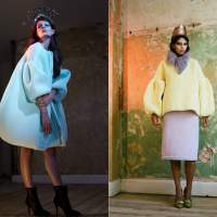 Inspired Knitwear by Xiao Li