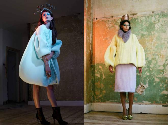 Knitwear by Xiao Li