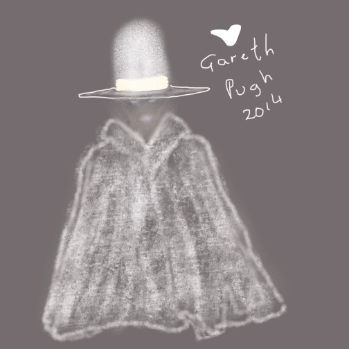 Gareth Pugh wheelchair cape idea