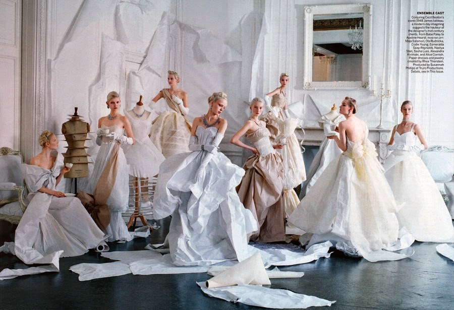Charles James The Only And The One by Tim Walker, Vogue May 2014