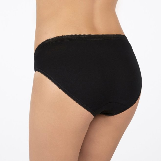 Sloggi Black Cotton briefs