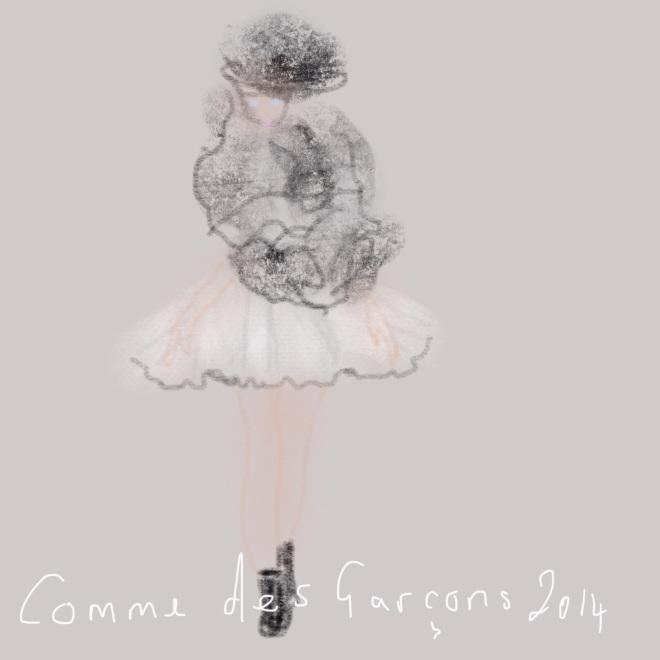 Commes des Garcons July 2014
