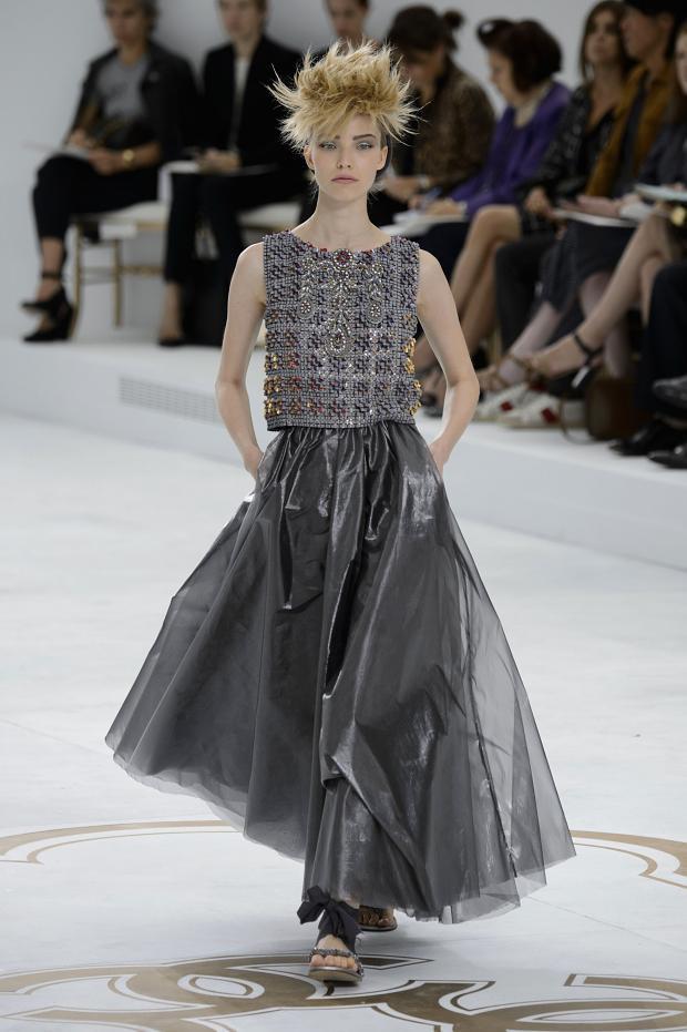 Chanel Haute Couture F/W 2014 via Fashionising