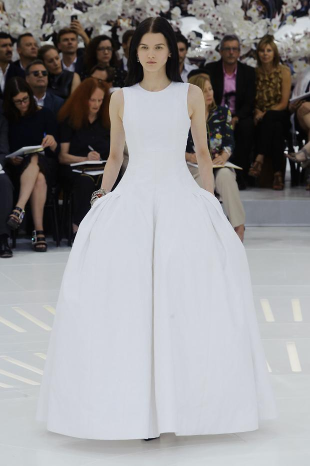 Christian Dior Haute Couture Fall 2014 via Fashionising.com