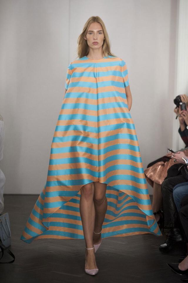 Emilia Wickstead Stripey Dress, S/S14