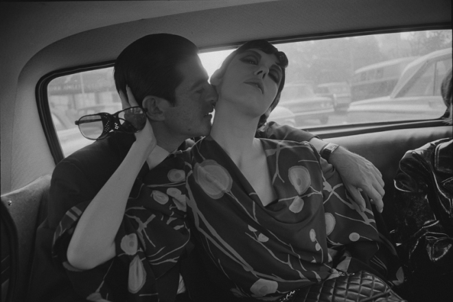 "Dennis Hopper's ""Irving Blum and Peggy Moffitt"""