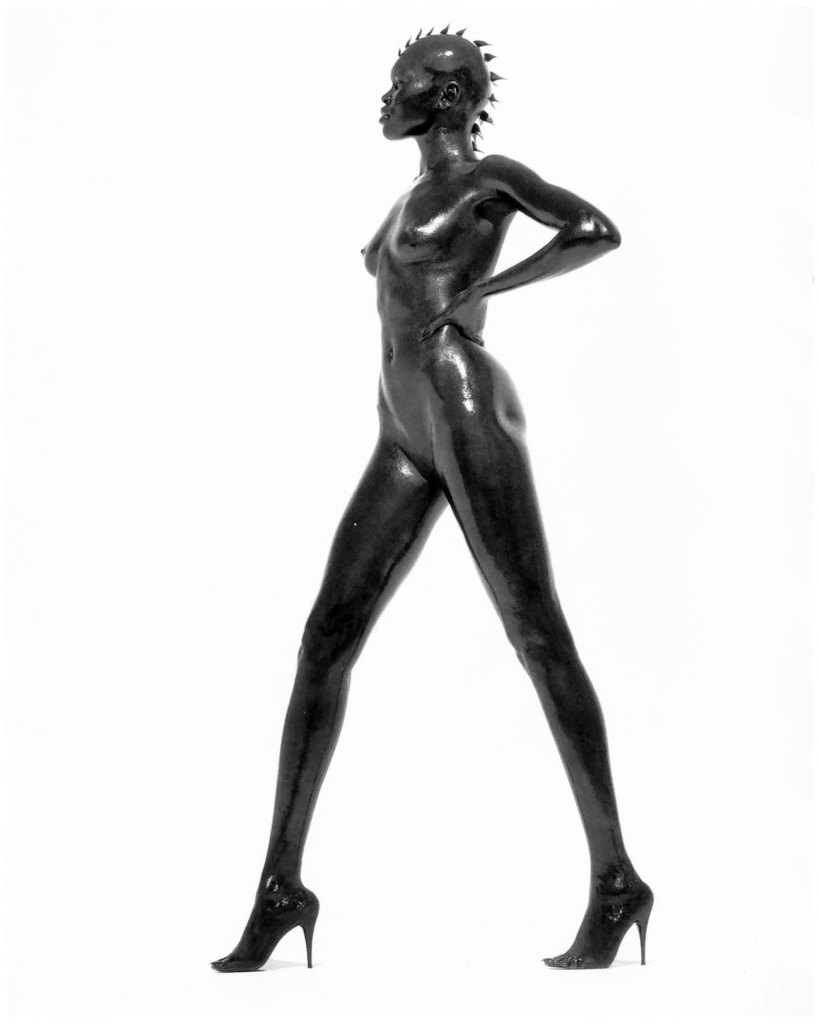 Iconic Photography: Alek Wek by Herb Ritts
