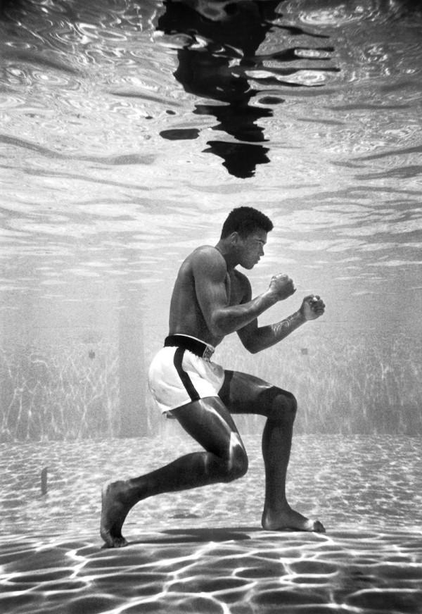 Muhammad Ali 1961 By Flip Schulke)