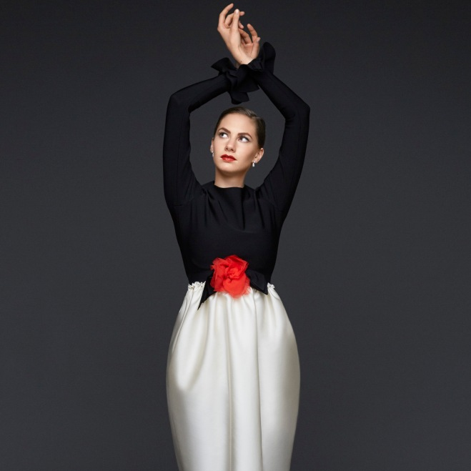 Emma Ferrer for Harper's Bazaar