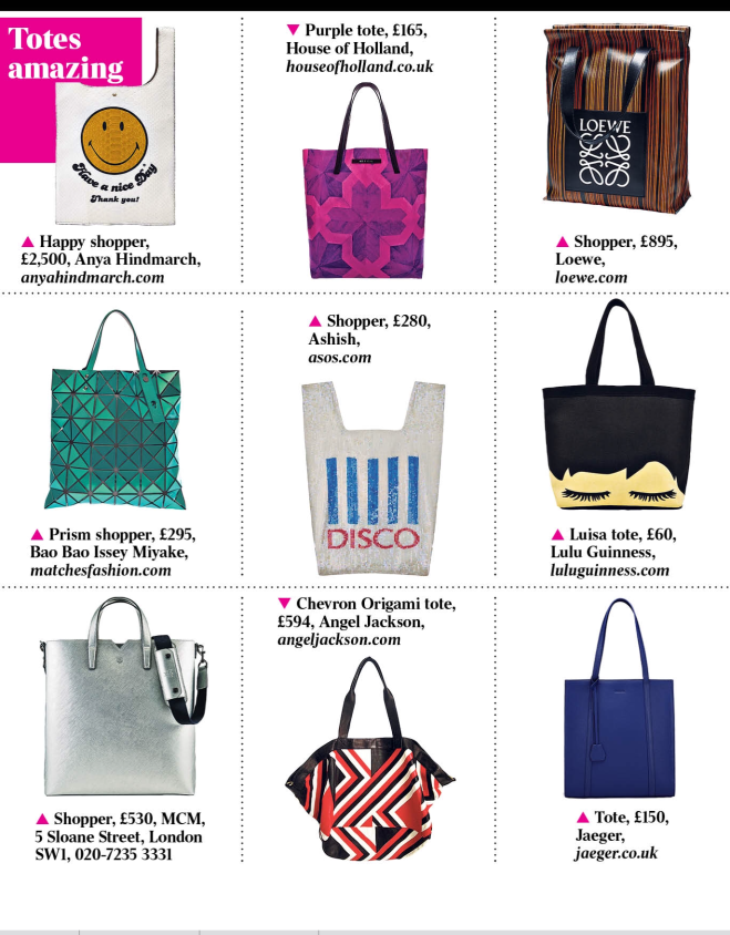 Totes from The Times