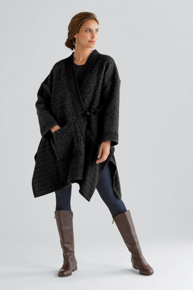 Carol Lee Shanks Nomad Cape Coat