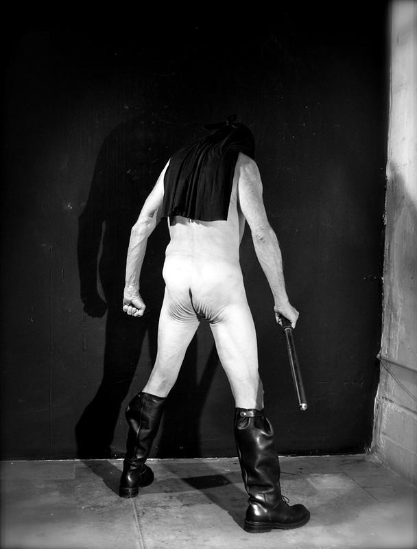 Rick Castro photographs Rick Owens