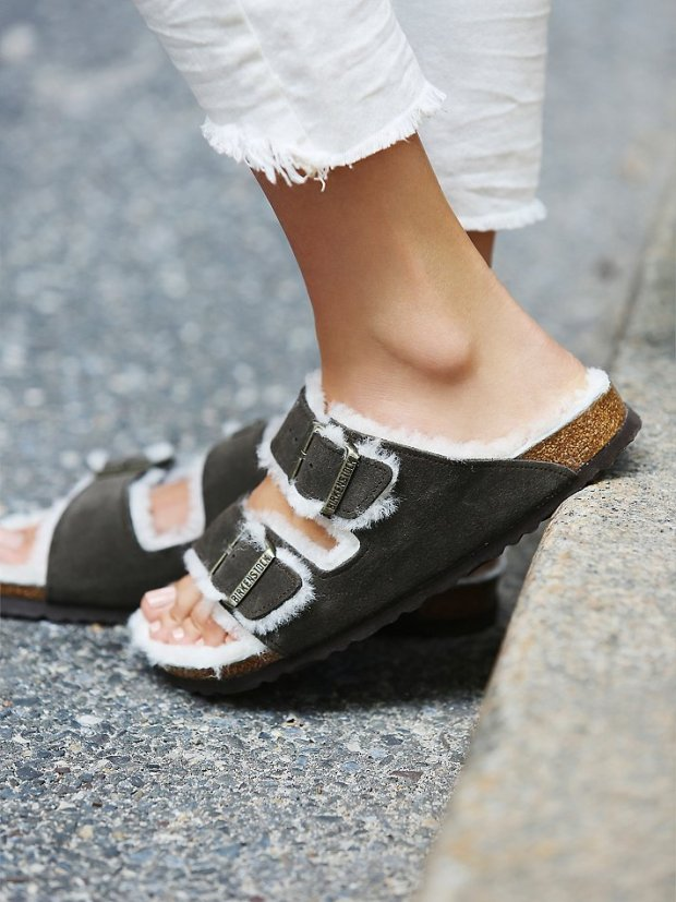 Arizona Shearling Birkenstocks