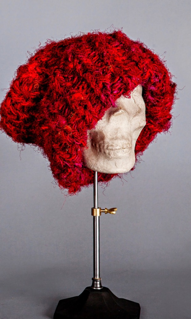 Oversize Beanie on Couture Millinery Atelier
