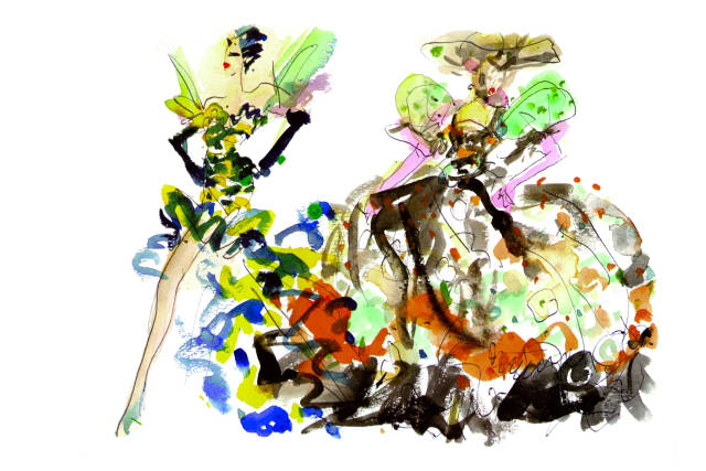 Joe Eula Fashion Illustrator