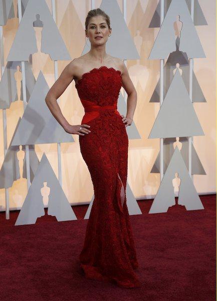 Rosamund Pike Oscars 2015