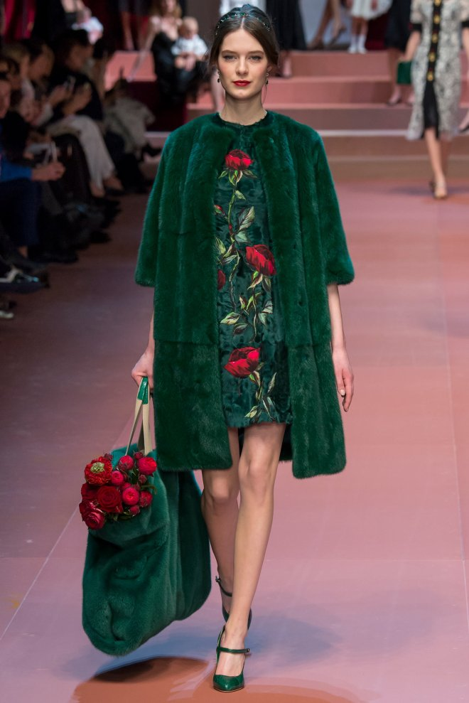 Dolce and Gabbana Fall 2015