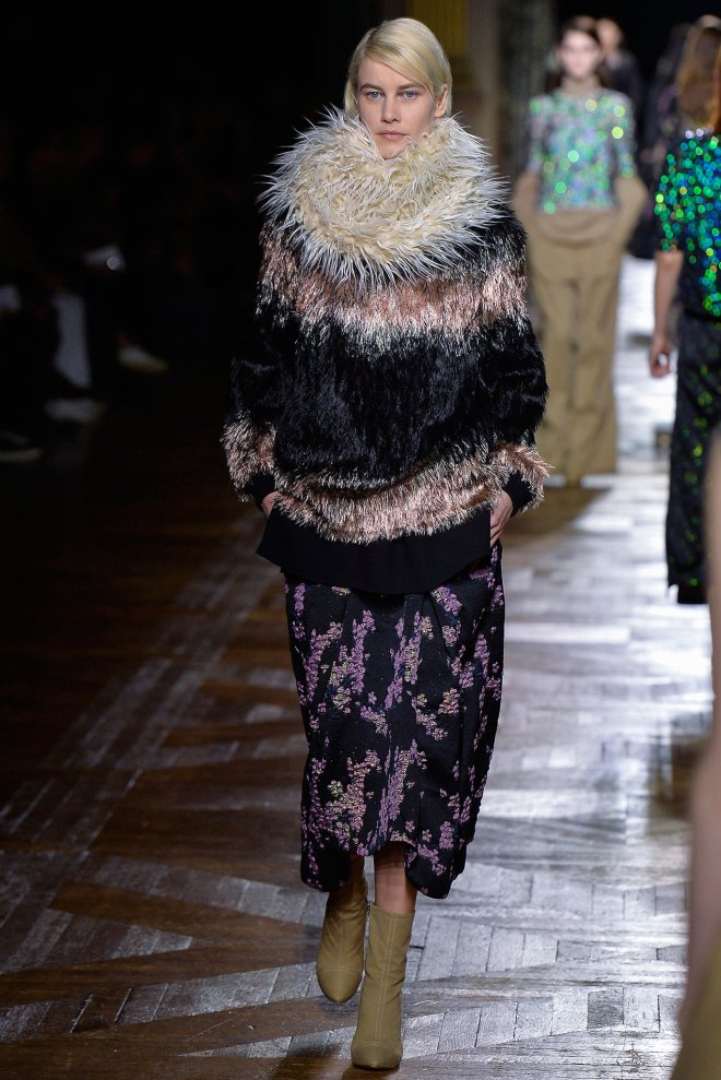 Dries Van Noten Fall 2015, PFW