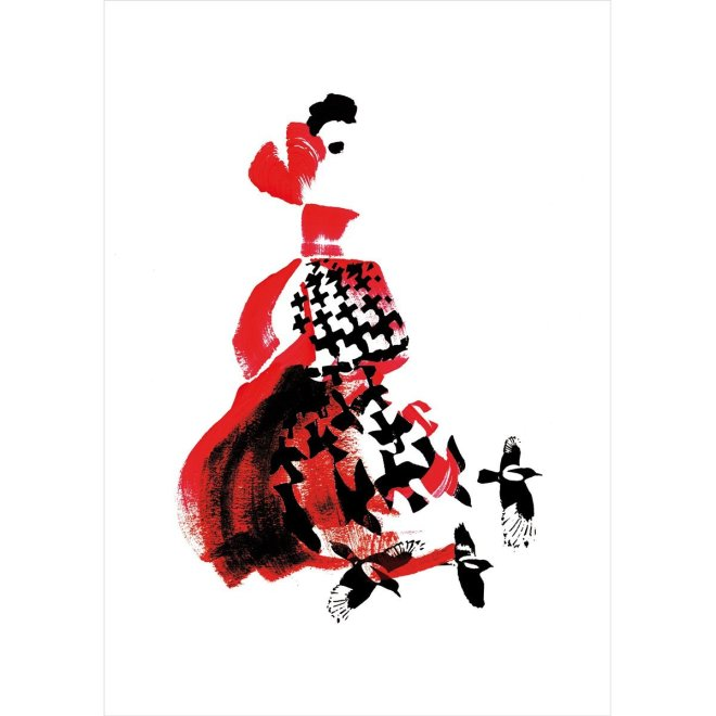 Fashion Illustration Inspired By Alexander McQueen - Amanda Yam