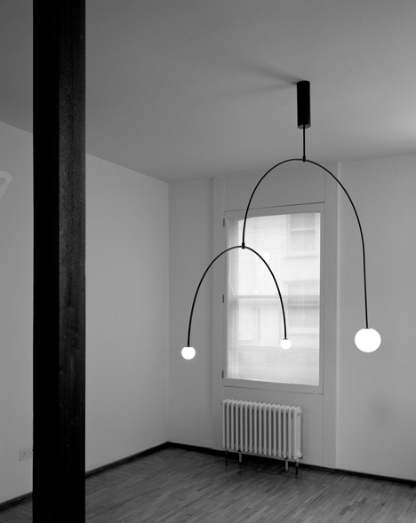 Michael Anastassiades Mobile Chandelier 9, 2015