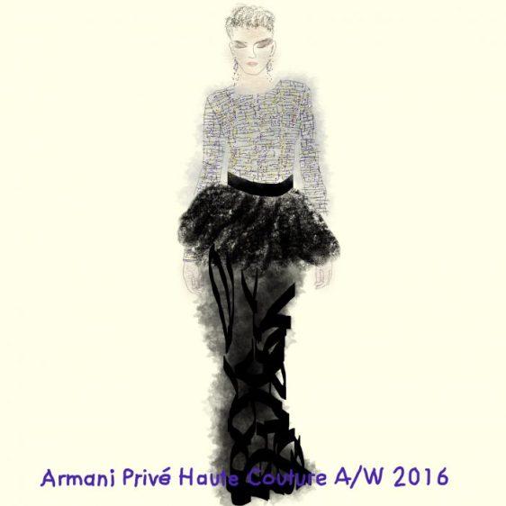 Armani Prive Haute Couture A/W 2016
