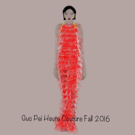 Guo Pei Haute Couture Fall 2016