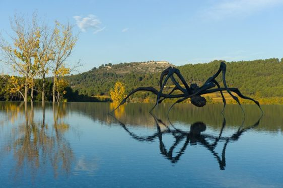 Louise Bourgeois at Chateau la Coste