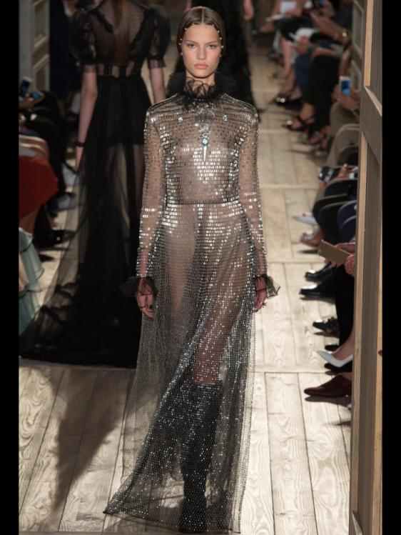 Valentino Haute Couture Fall 2016, photo courtesy Vogue Runway app