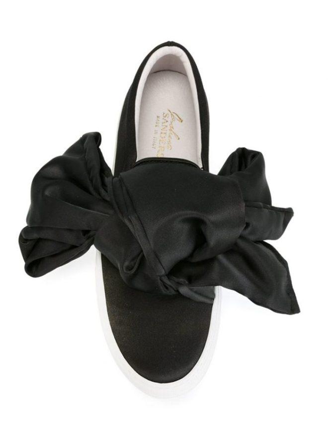 Joshua Sanders Bow Tie Sneakers