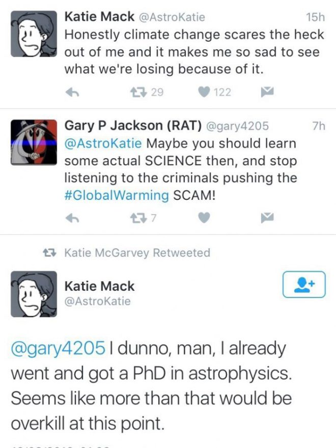 Twitter fun: Climate change science