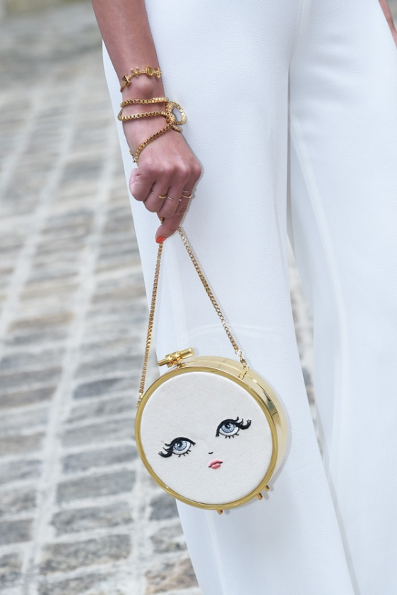 Street Style during the Paris Haute Couture, Autumn Winter 2016-2017, Schiaparelli