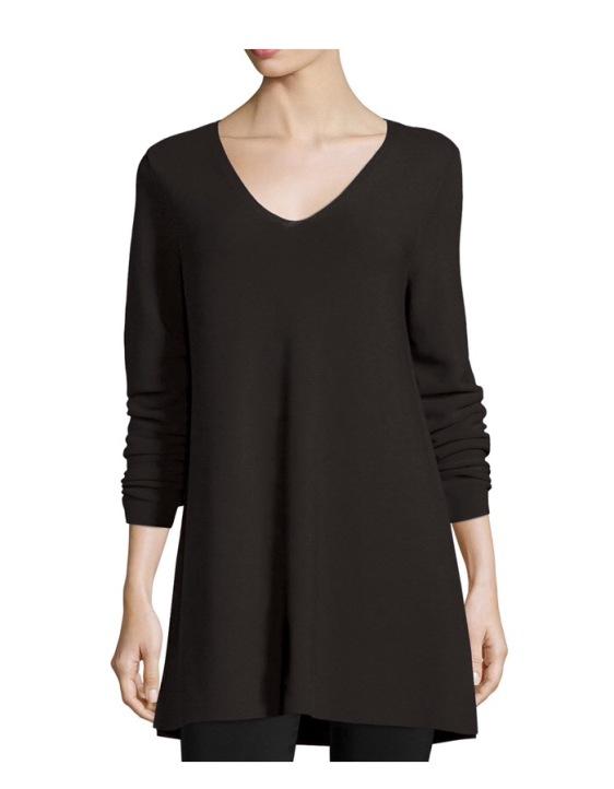 Eileen Fisher Long-Sleeve Tunic