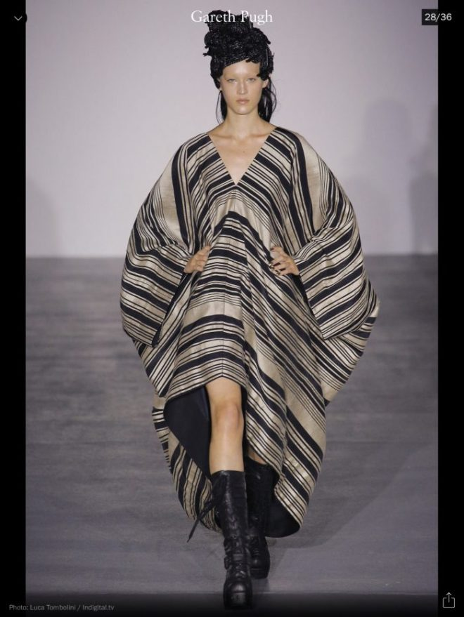 LFW: Gareth Pugh, RTW S/S 2017, image courtesy of Vogue Runway