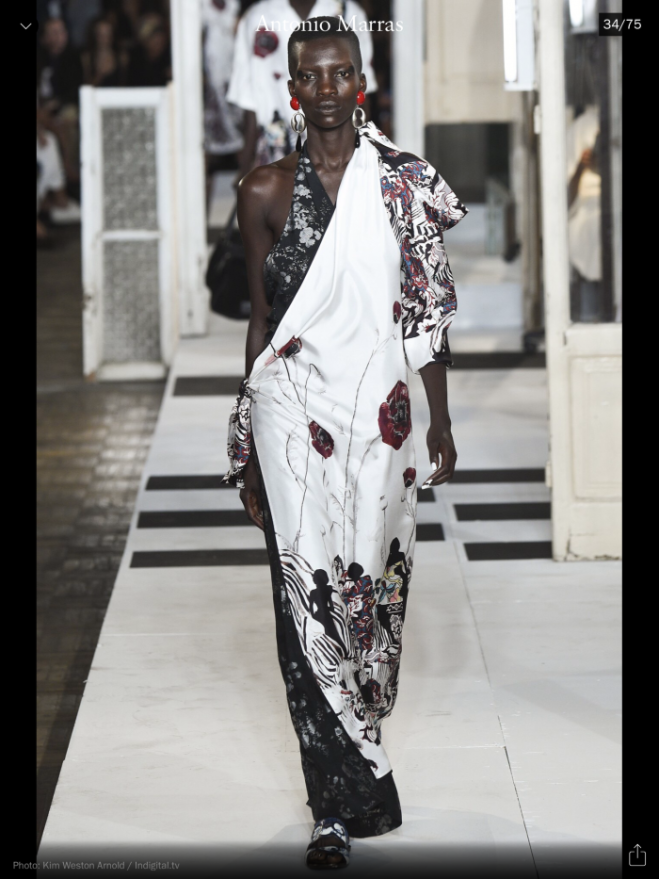 MFW: Antonio Marras, RTW S/S 2017, image courtesy of Vogue Runway