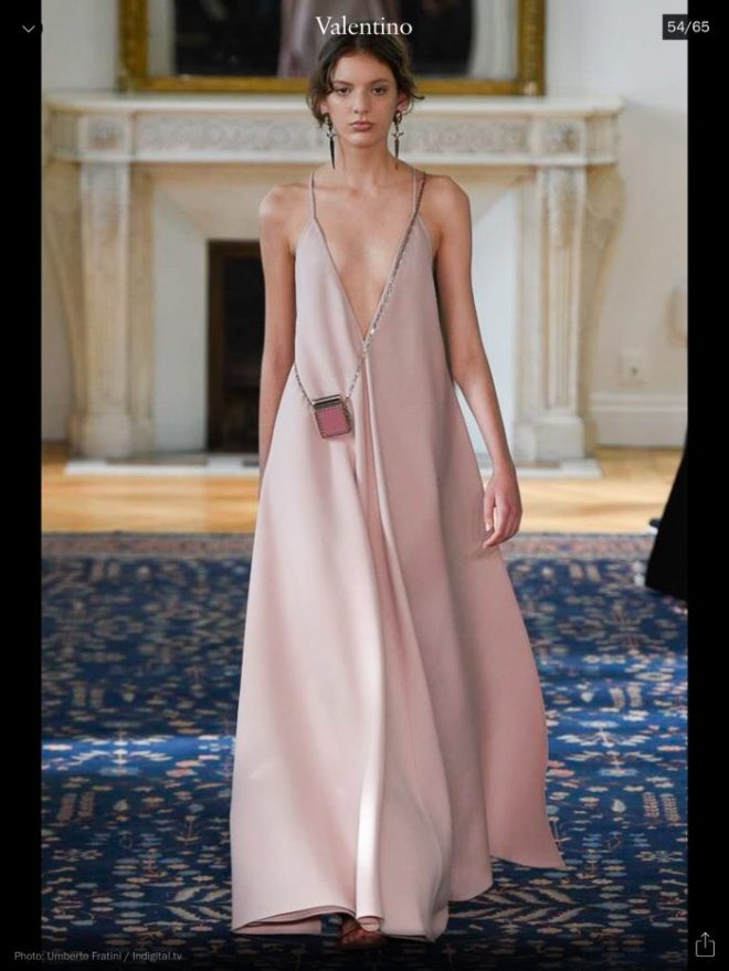 PFW: Valentino, RTW S/S 2017, image courtesy of Vogue Runway