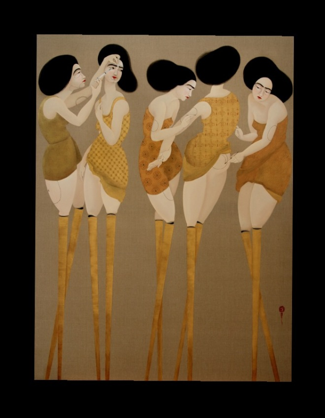 Hayv Kahraman: Leveled Leisure, 2010