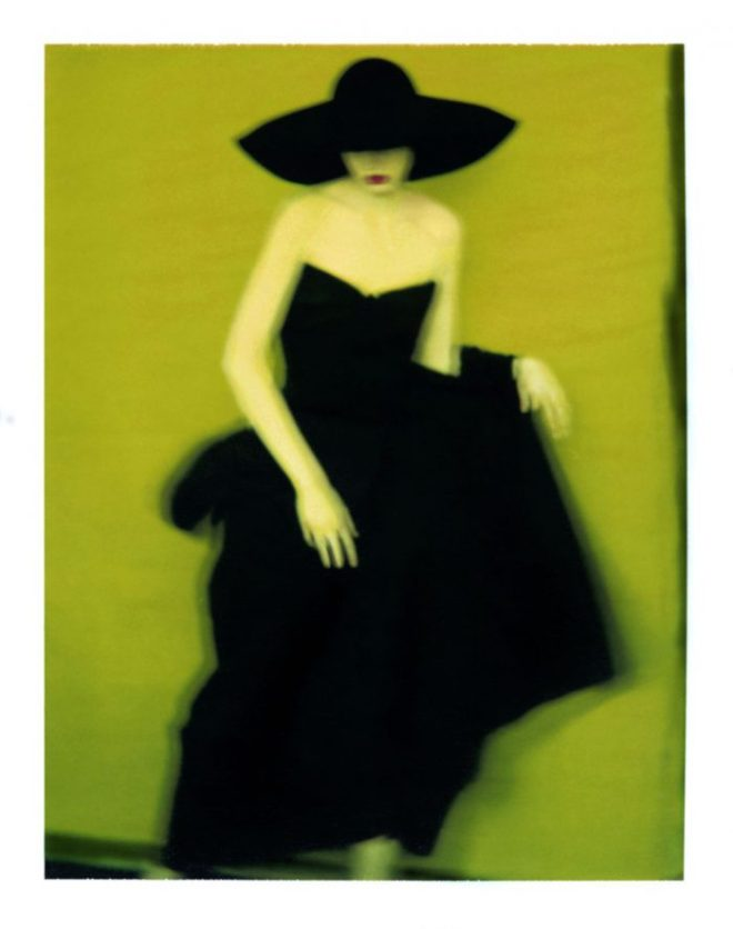 Sarah Moon: Fashion II, Yoji Yamamoto 1996, courtesy Michael Hoppen Gallery