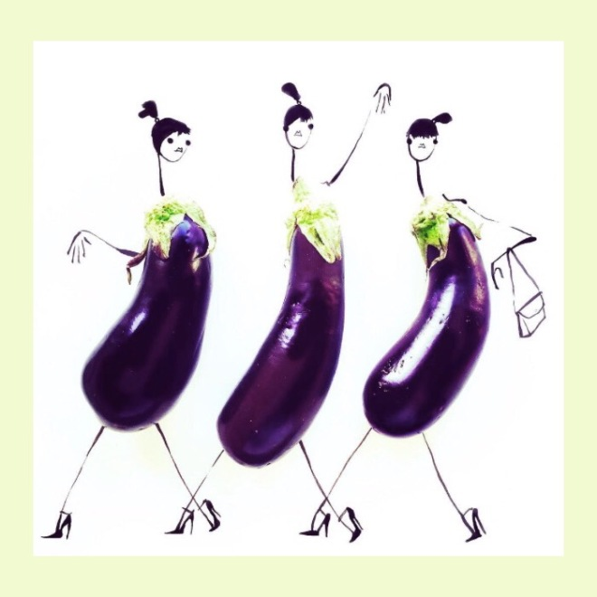 Gretchen Roehrs: Aubergines